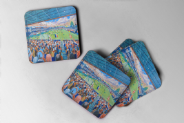 kenilworth road Coaster set of four